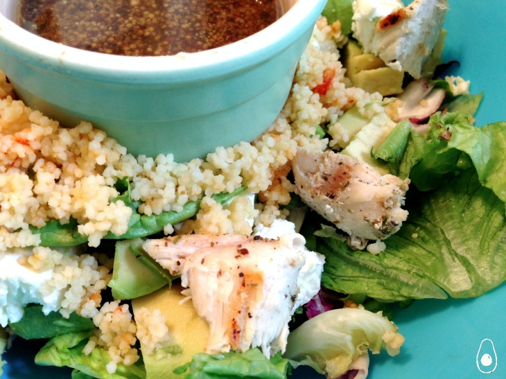 Chicken-goats-cheese-avocado-salad