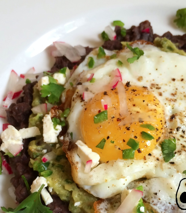 fried-egg-black-beans-guacamole