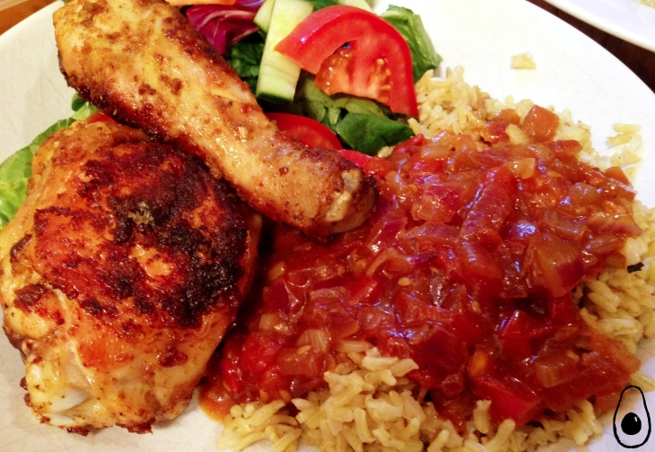 mandis-best-african-pan-fried-chicken-with-rice-and-gravy