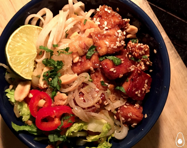sticky-tofu-and-noodle-salad