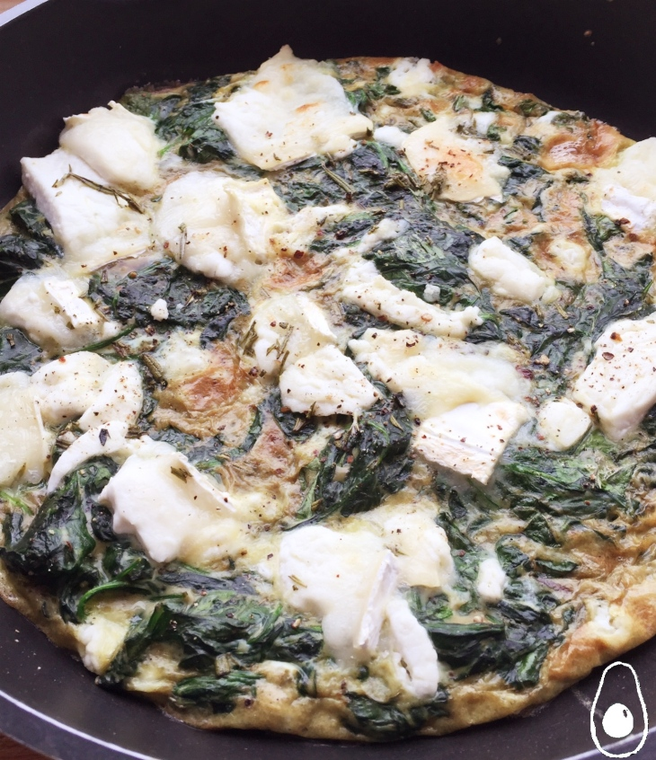 goats-cheese-frittata