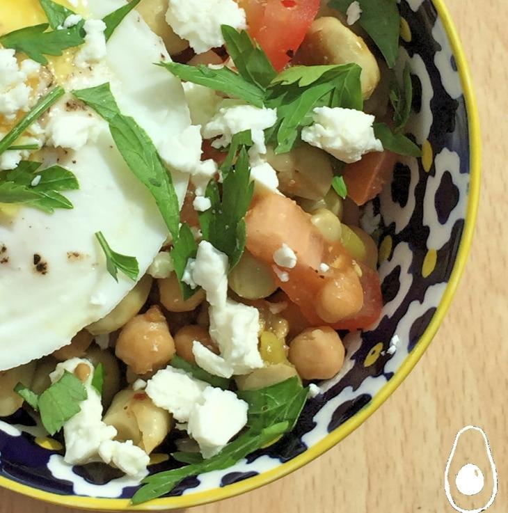 Egyptian-Egg-and-beans