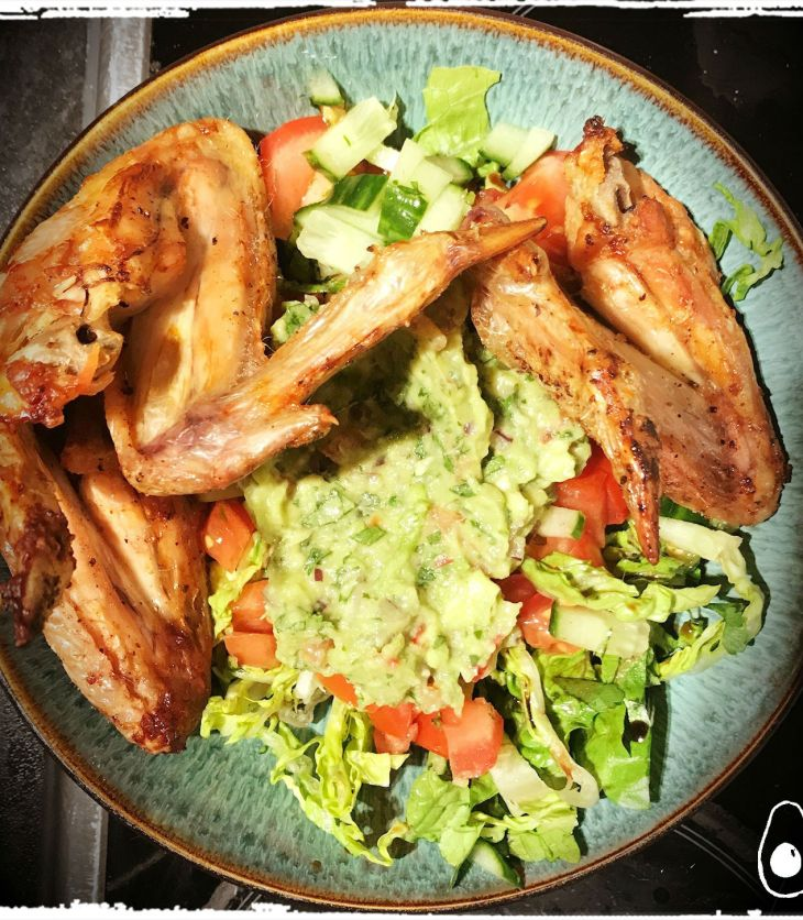 chicken-wing-salad