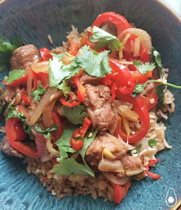 five-spice-pork-and-rice