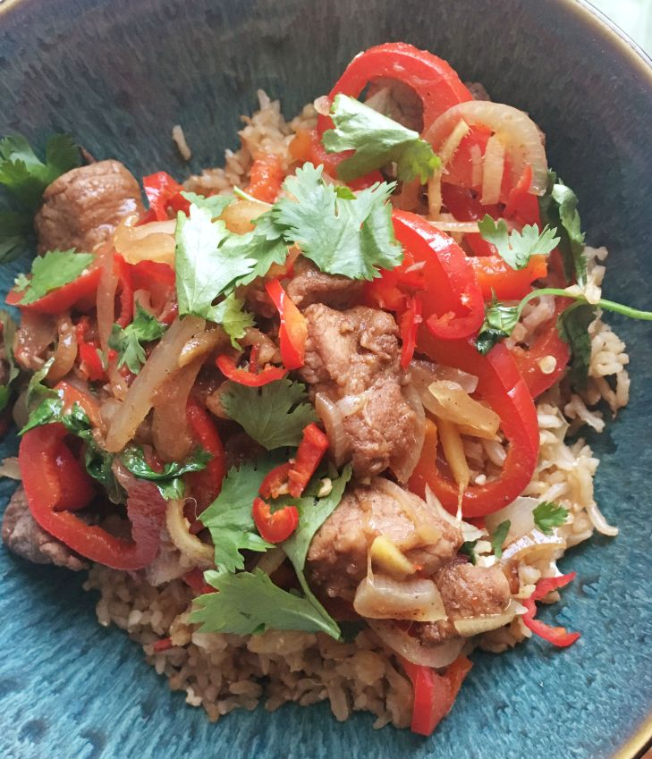 five-spice-pork-and-egg-fried-rice